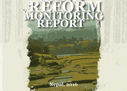 CSO Land Reform Monitoring Report