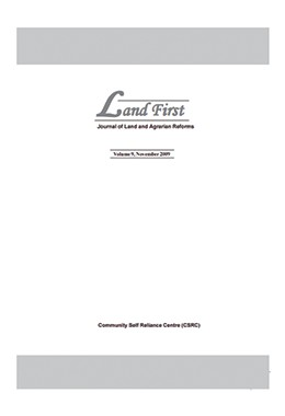 Landfirst-vol 9 Nov 2009