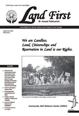 Land First Sep 2004