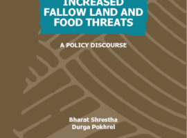 INCREASED FALLOW LAND AND FOOD THREATS