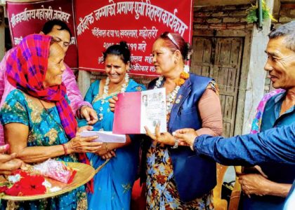 Fruits of Consistent Struggle: Happiness in Village-Block