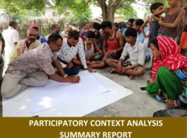 Participatory Context Analysis Summary Report: Sabaila-13, Dhanusha