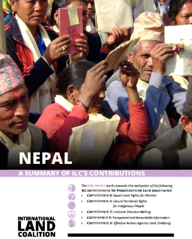 ILC Contribution in Nepal