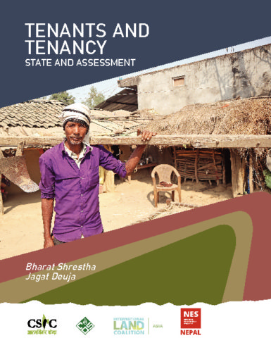 Tenants and Tenancy: State and Assessment